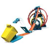 Mattel Hot Wheels track builder trojitá smyčka 2