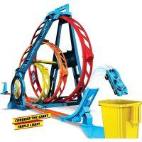 Mattel Hot Wheels track builder trojitá smyčka 3