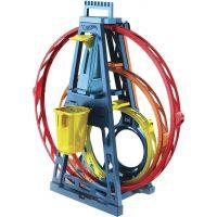 Mattel Hot Wheels track builder trojitá smyčka 6