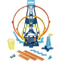 Mattel Hot Wheels track builder trojitá smyčka 5