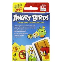Mattel Hra Uno Angry Birds