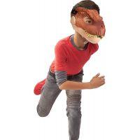 Mattel Jurský svět dino maska Tyrannosaurus Rex hnědý 4