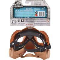 Mattel Jurský svět dino maska Tyrannosaurus Rex hnědý 5