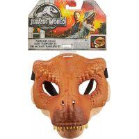 Mattel Jurský svět dino maska Tyrannosaurus Rex hnědý 6