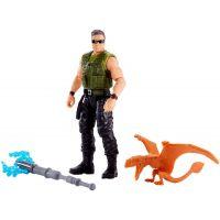 Mattel Jurský svět Základní figurka Mercenary a Ankylosaurus