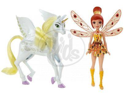 Mattel Mia and Me Malá víla a jednorožec - Yuko a Onchao