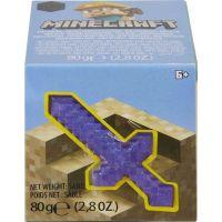Mattel Minecraft mini těžba meč fialový