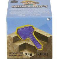 Mattel Minecraft mini těžba sekera fialová