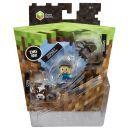 Mattel Minecraft minifigurka 3ks - Cow, Steve a Spider 3