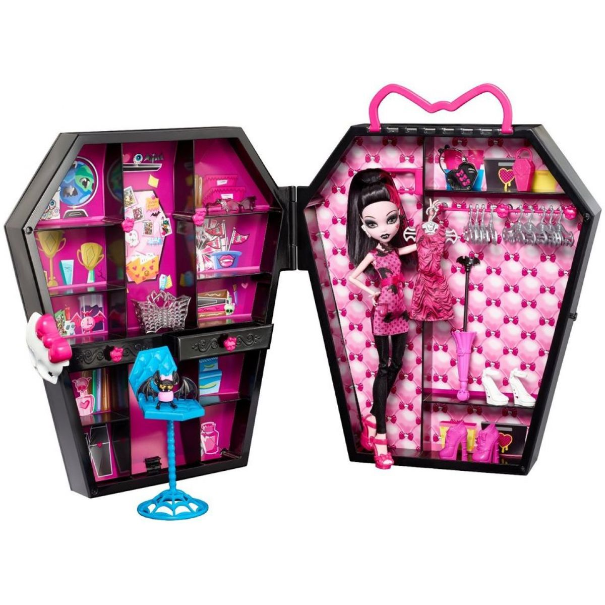Mattel Monster High Draculaura a skříň