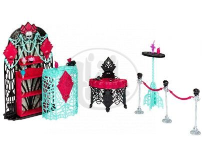Monster High Howlywood nábytek - Premiérový večírek