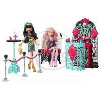 Monster High Howlywood nábytek - Premiérový večírek 4