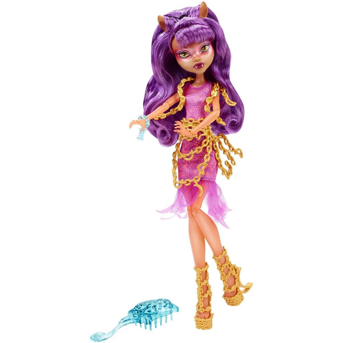 Mattel Monster High Škola duchů - Clawdeen Wolf