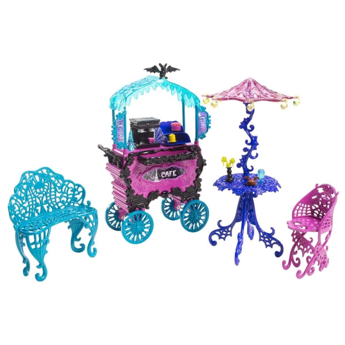 Monster High Y0425 Monster set - Kavárna