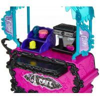 Monster High Y0425 Monster set - Kavárna 3