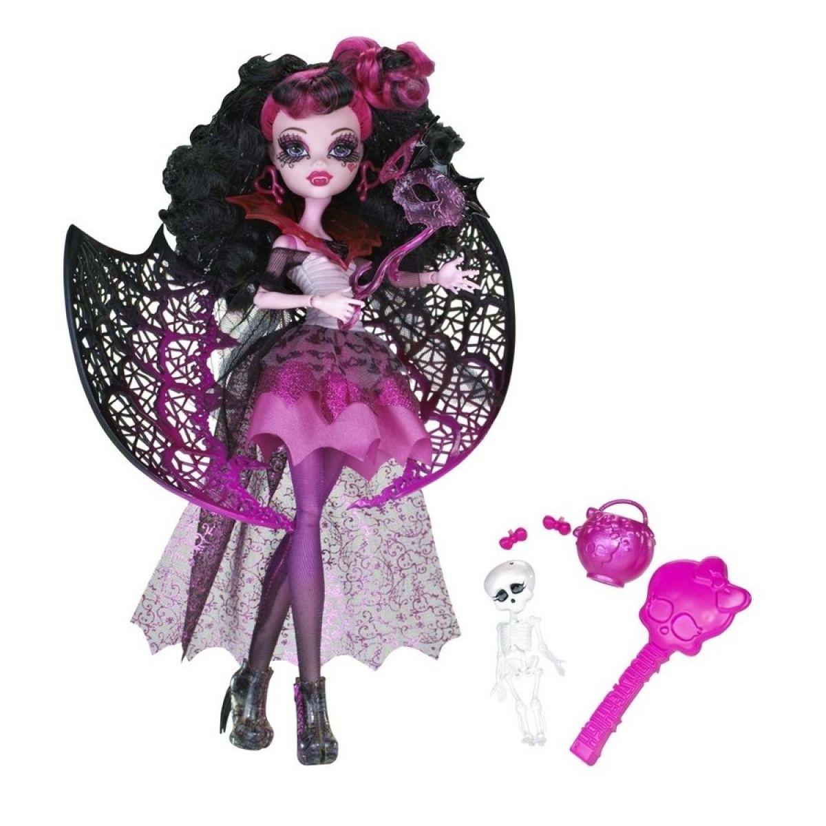Monster High X3712 Panenka Halloween - Draculaura