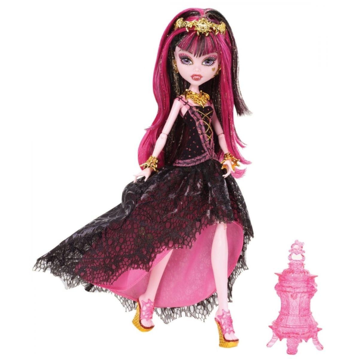 Monster High Y7702 Příšerka 13 přání - Draculaura