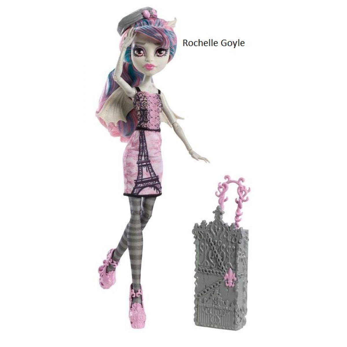 Monster High Y7679 Příšerka na cestách - Rochelle Goyle