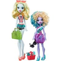 Mattel Monster High sourozenci monsterky 2 ks Lagoona Blue
