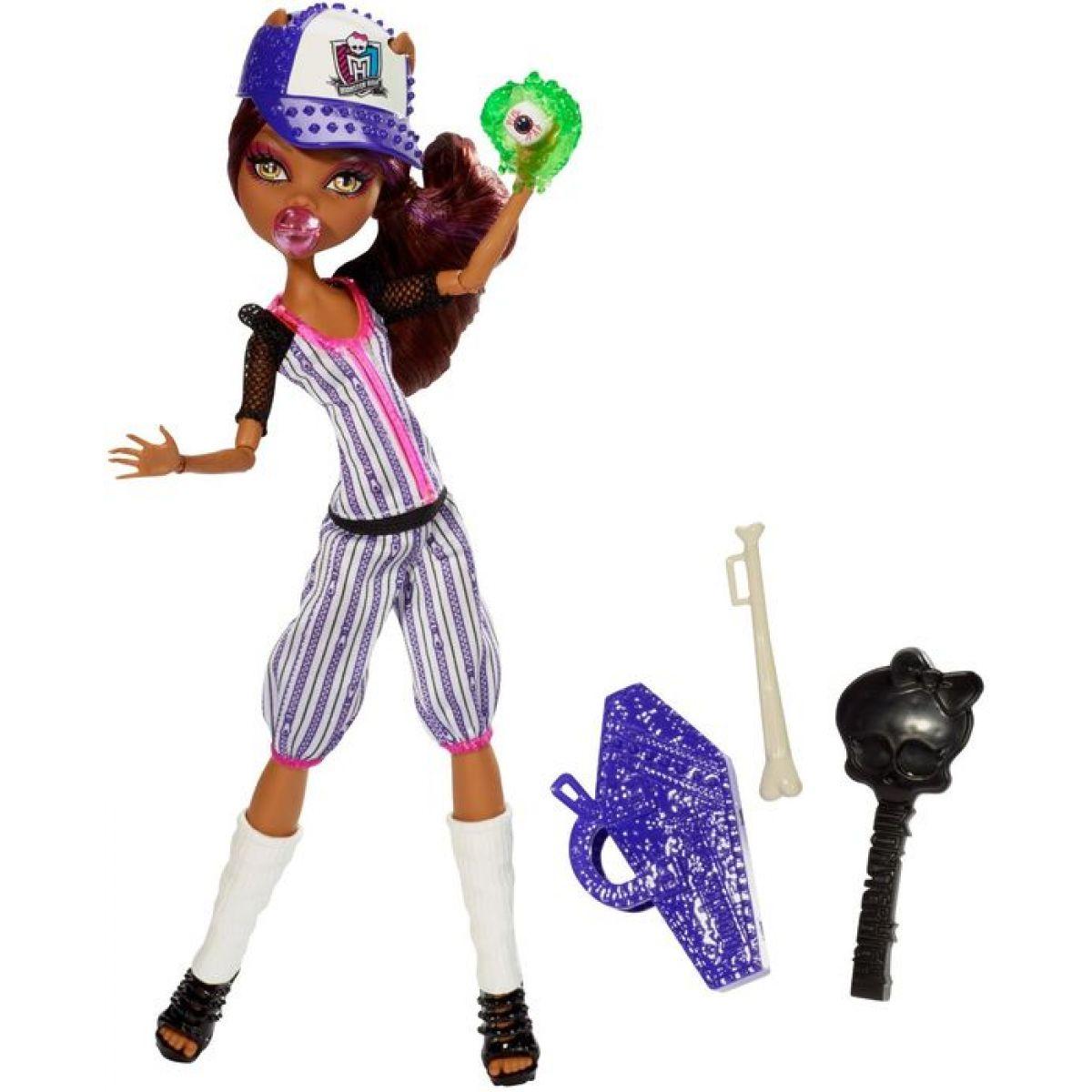 Mattel Monster High Sportovní příšerky - Clawdeen Wolf