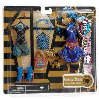 Monster High Y0585 Velká kolekce hadříků - Robecca Steam 2