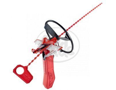 Mattel Planes letadla s natahovacím lankem - Firefighter Dusty