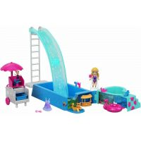 Mattel Polly Pocket Bazén se skluzavkou