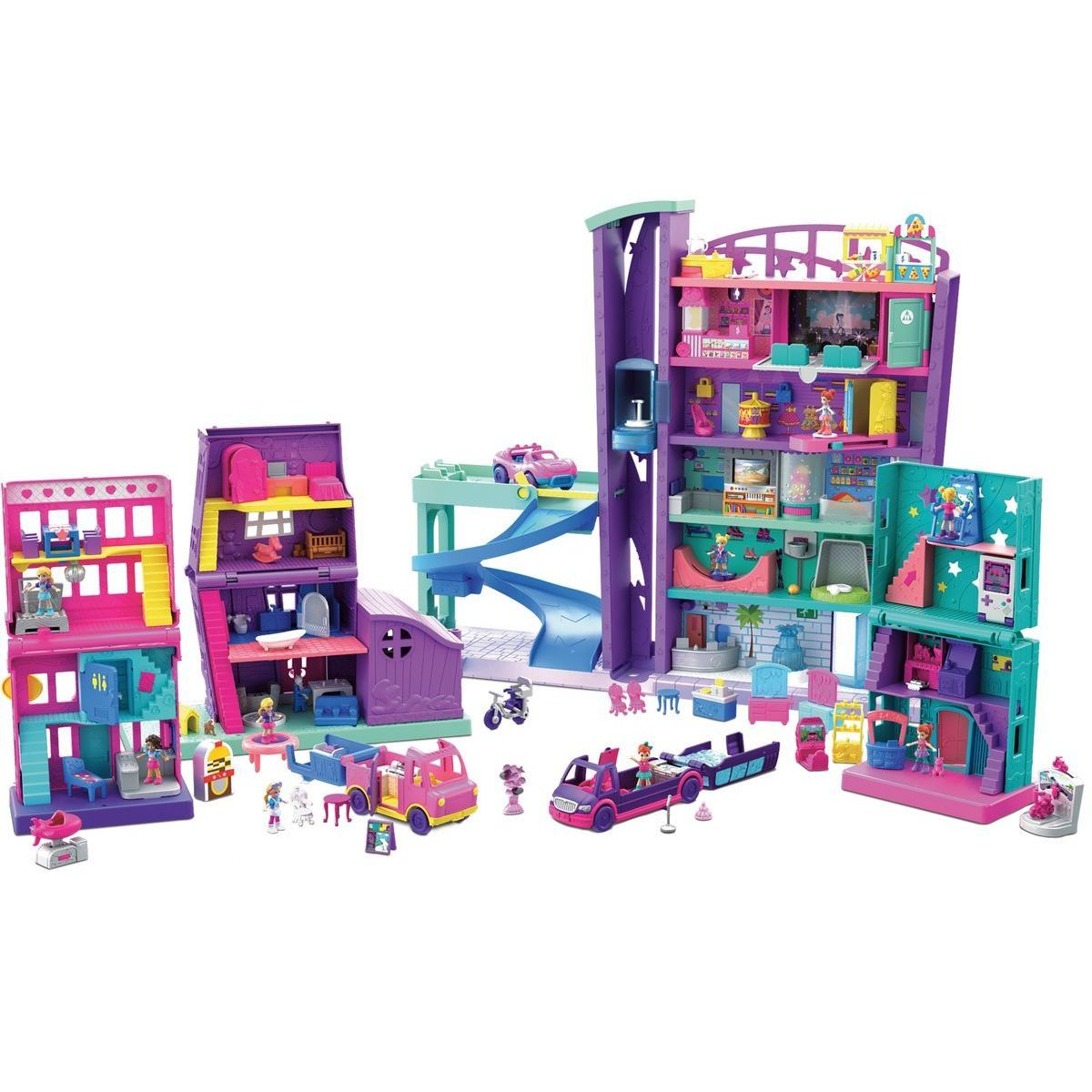 Mattel Polly pocket grande Galleria