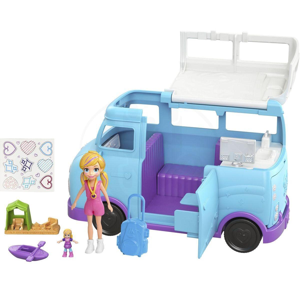 Mattel Polly Pocket karavan