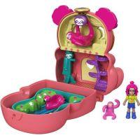 Mattel Polly Pocket pudřenka s překvapením Lenochod