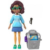 Mattel Polly Pocket Sportovní panenka Karaoke Queen Shani