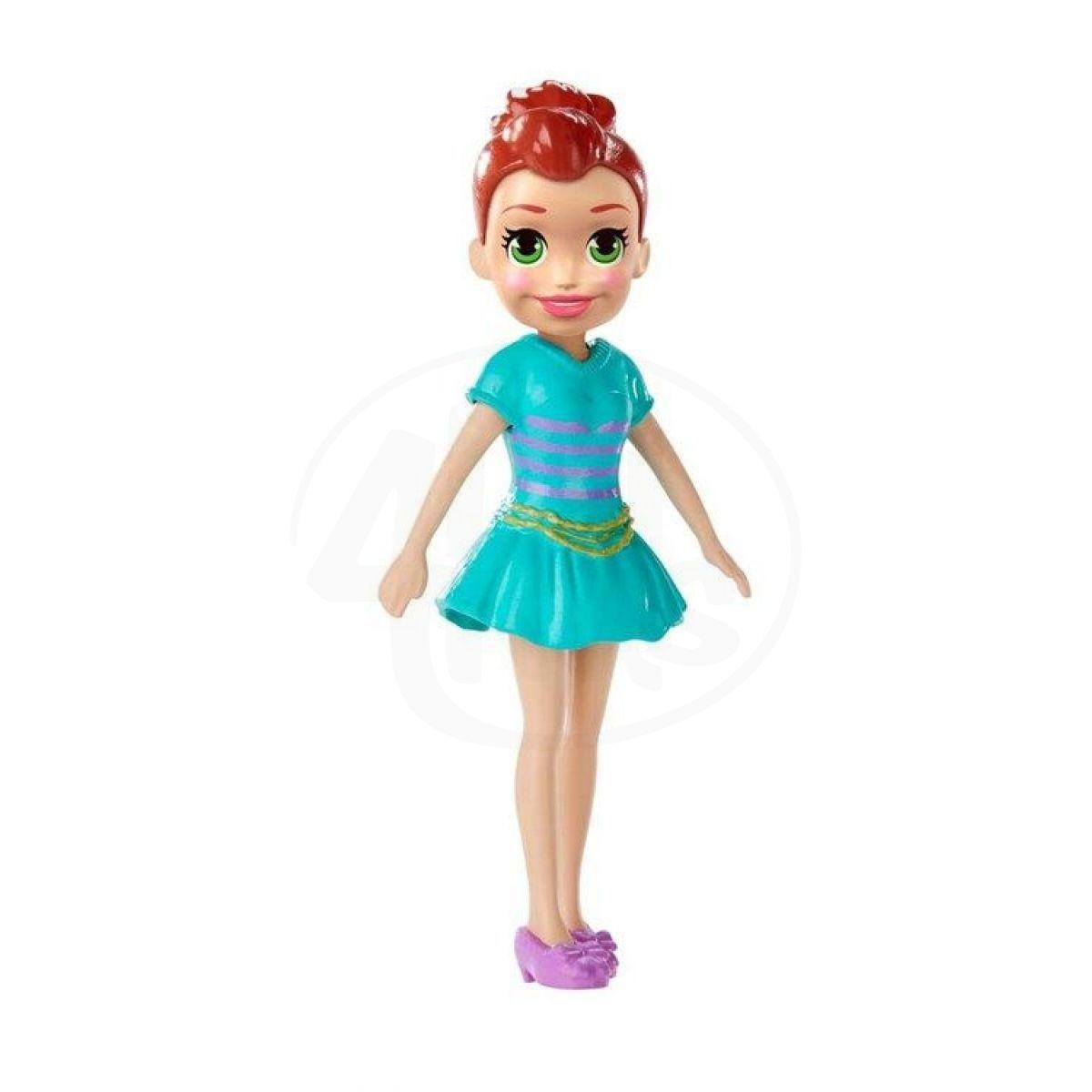 Mattel Polly Pocket stylová panenka Lila šaty 22 73e8df5778