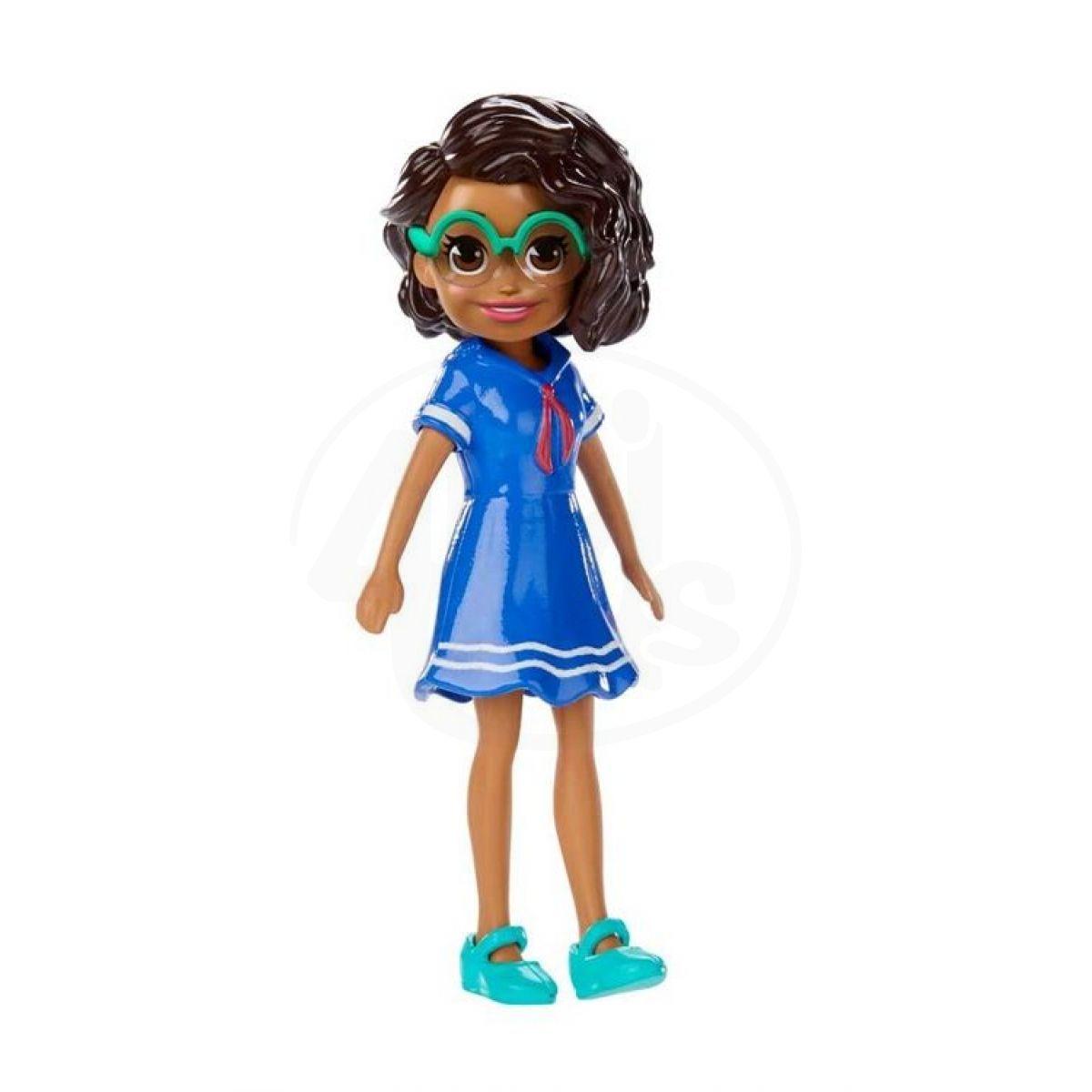 Mattel Polly Pocket stylová panenka Shani šaty 21 654aa22407