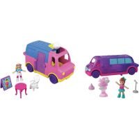 Mattel Polly pocket vozidlo fialový vůz 2