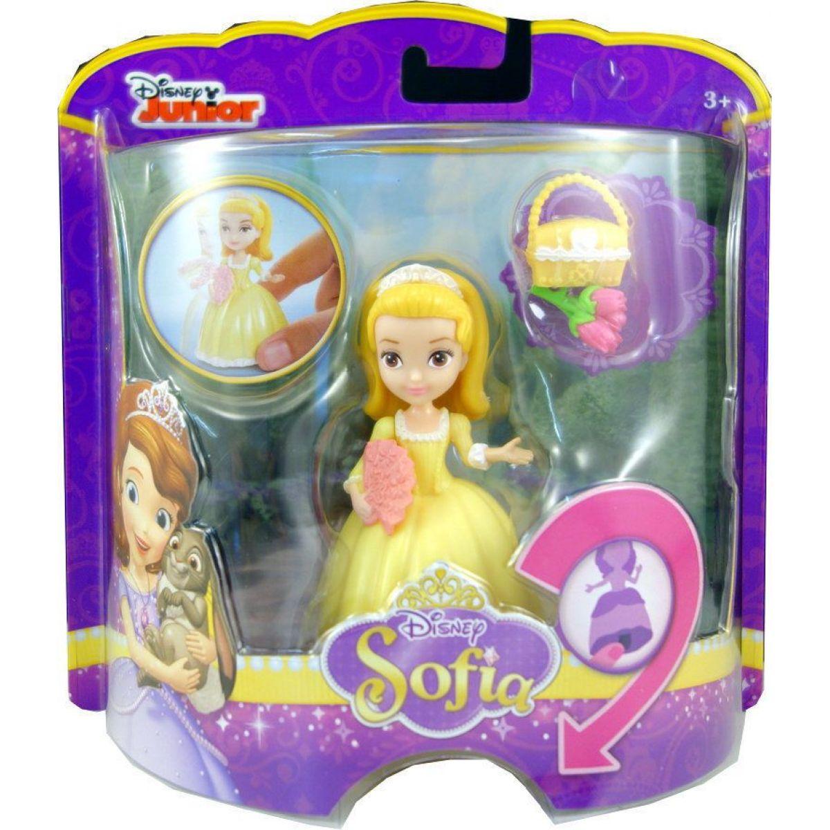 Mattel Sofie oživlé figurky - Amber s vějířem
