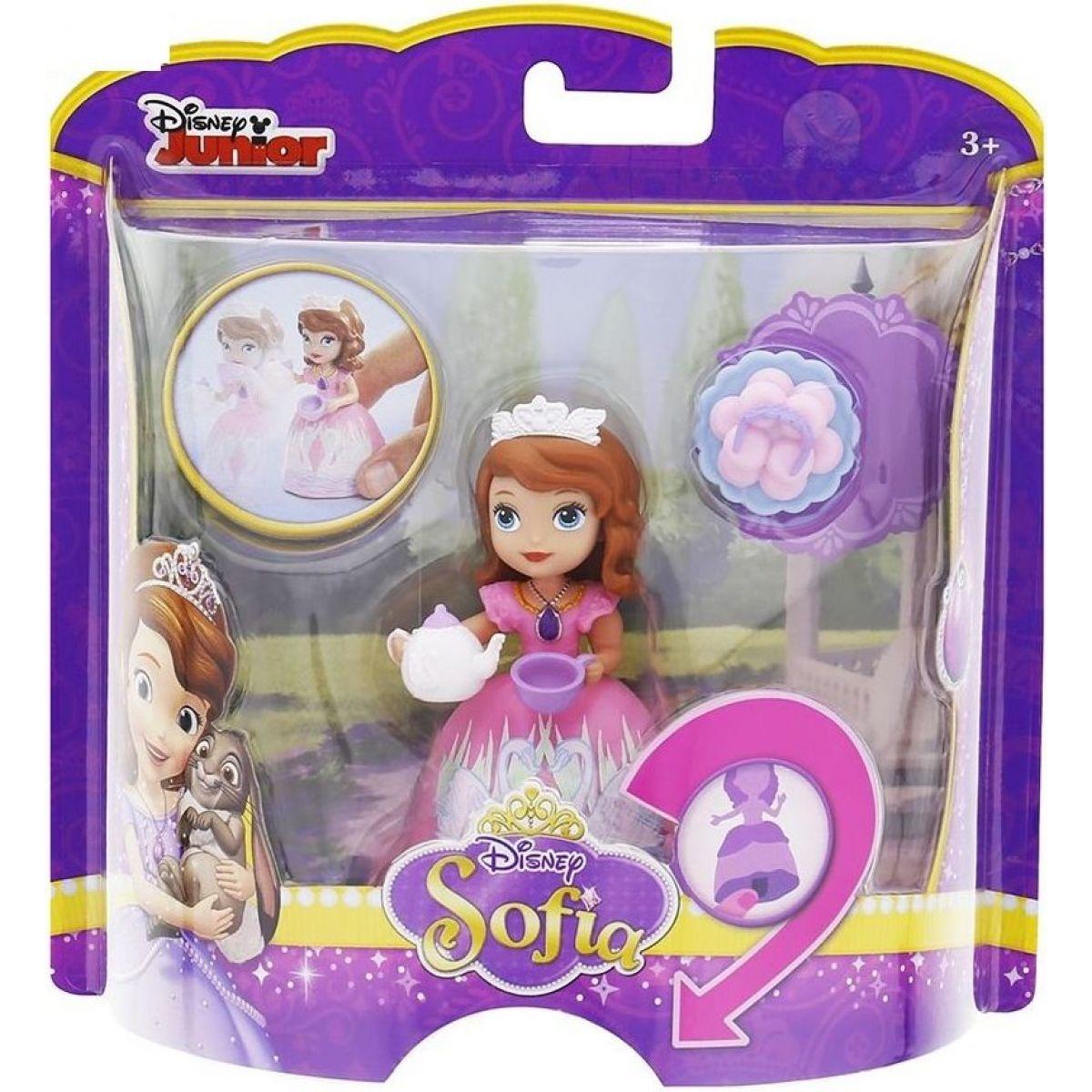 Mattel Sofie oživlé figurky - Sofie s čajem