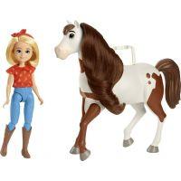 Mattel Spirit Panenka Štístko a kůň Spirit