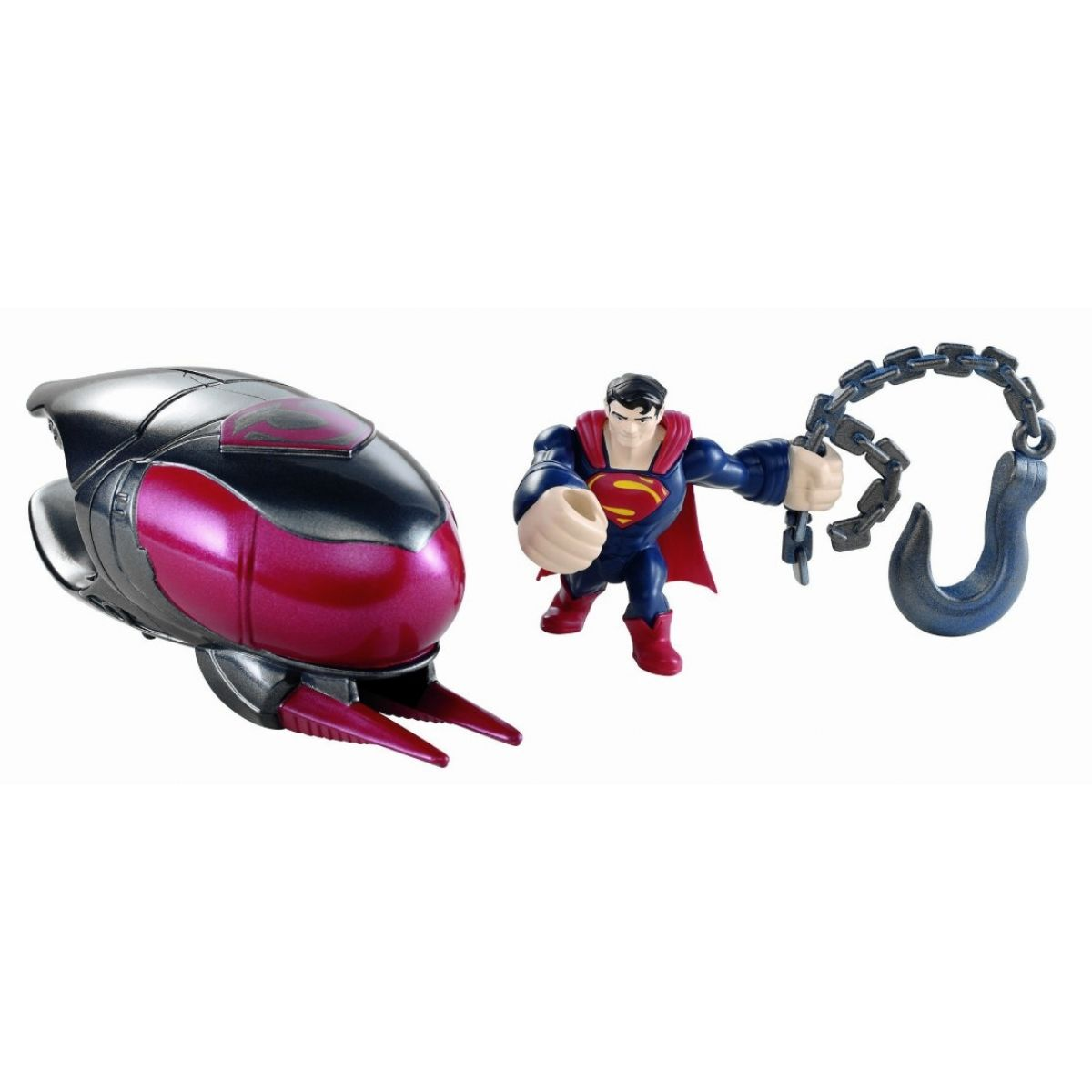 Mattel Superman exploders figurky a vozidla - Cruiser Smash Battle Pack
