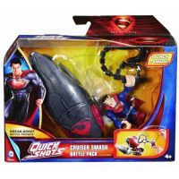 Mattel Superman exploders figurky a vozidla - Cruiser Smash Battle Pack 2