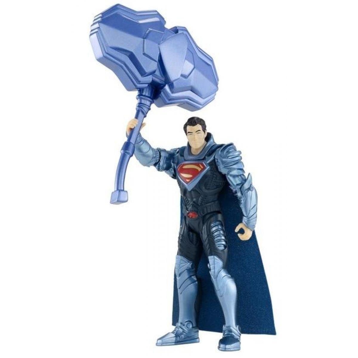 Superman základní figurky Mattel - Superman Mega staff