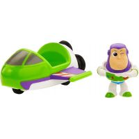 Mattel Toy story 4 minifigurka s vozidlem Buzz Lightyer a Spaceship
