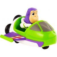 Mattel Toy story 4 minifigurka s vozidlem Buzz Lightyer a Spaceship 2