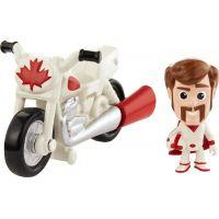 Mattel Toy story 4 minifigurka s vozidlem Duke Caboom a Stunt Bike