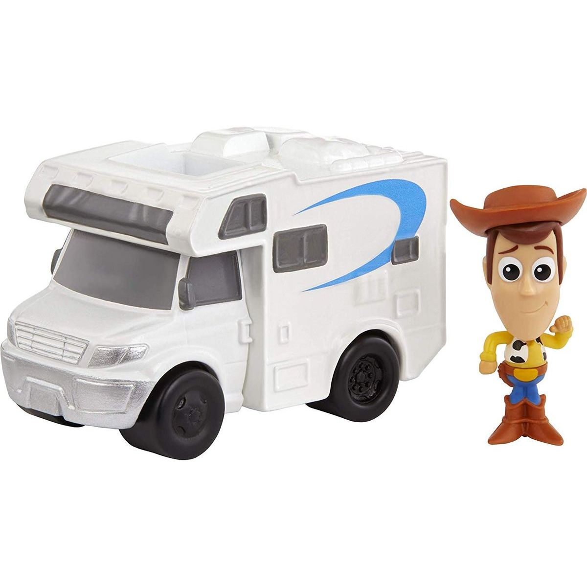 Mattel Toy story 4 minifigurka s vozidlem Woody a RV