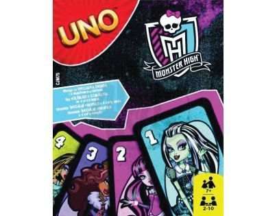 MATTEL Uno Monster High 2 (CJM75)