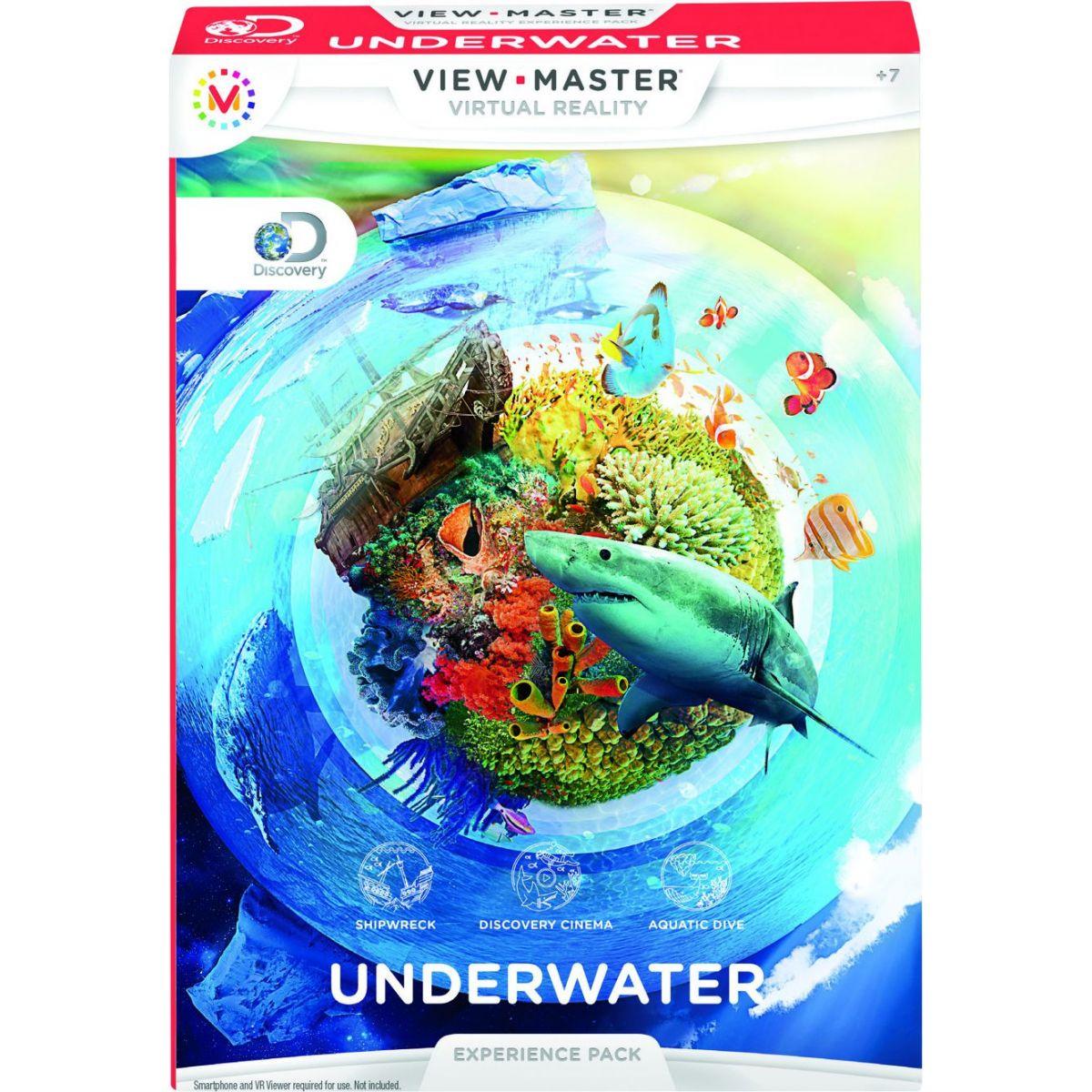 Mattel View Master Zážitkový balíček Podvodní svět