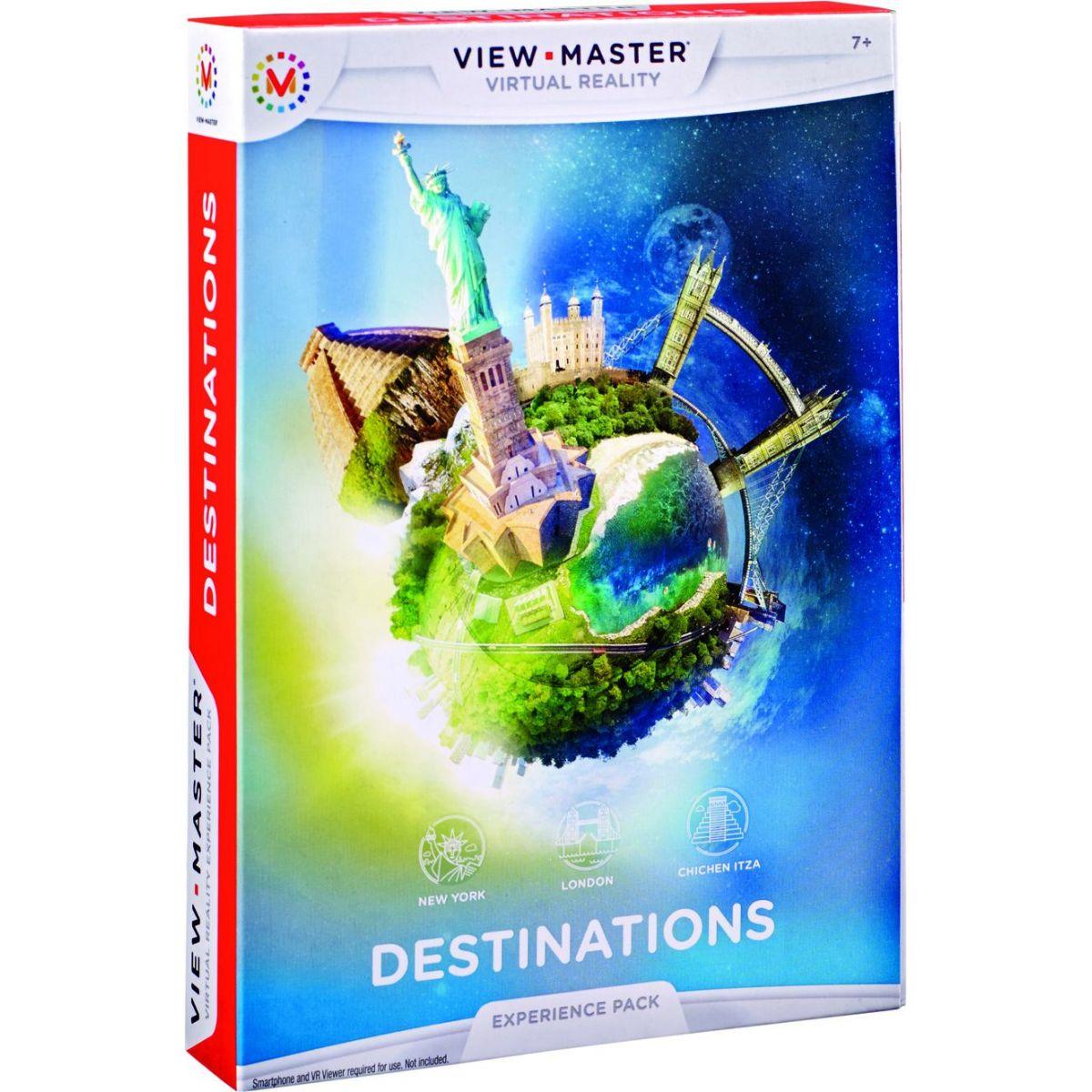 Mattel View Master zážitkový balíček Zajímavá místa