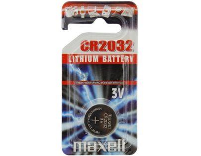 Maxell Baterie knoflíková 3V CR 2032