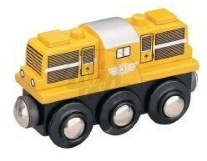 MAXIM 50814 - Dieselová lokomotiva - žlutá
