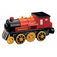 Maxim Elektrická lokomotiva červená plastová